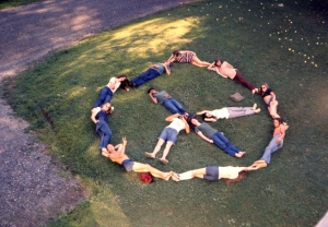 Peace Sign People 1968