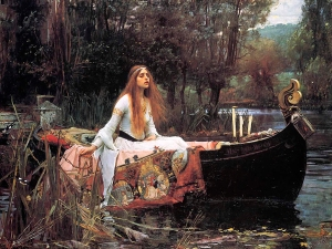 The Lady of Shallot by John Waterhouse