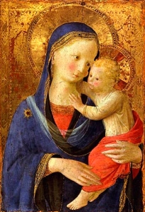 Fra Angelico - Madonna and Child 3